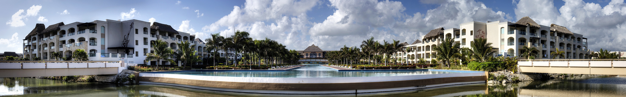 Hard Rock Resort Buildings and Grounds - Punta Cana, DR