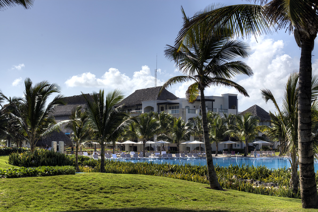 Hard Rock Resort Grounds and Pool - Punta Cana, DR