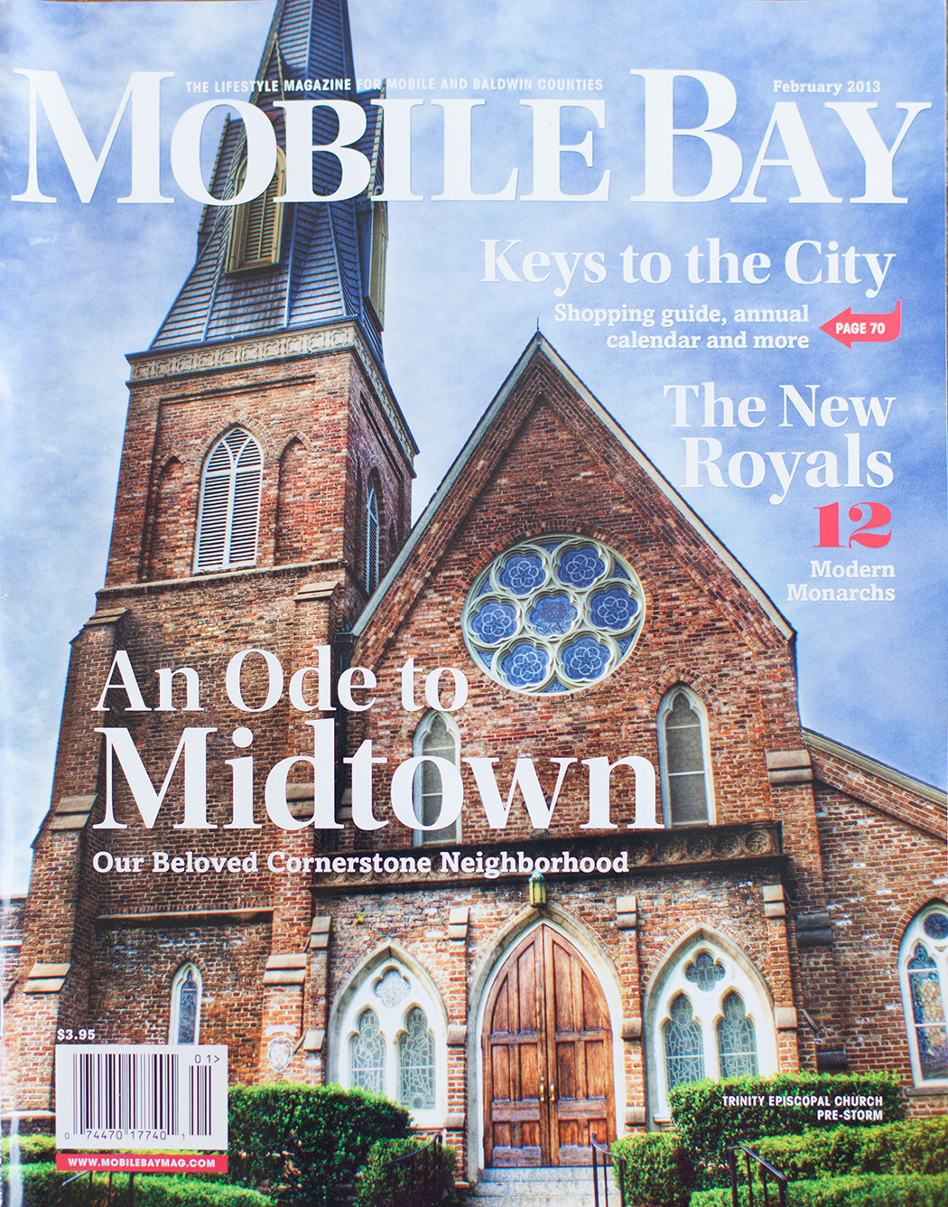 Mobile Bay February Cover | Dauphin Street Church
