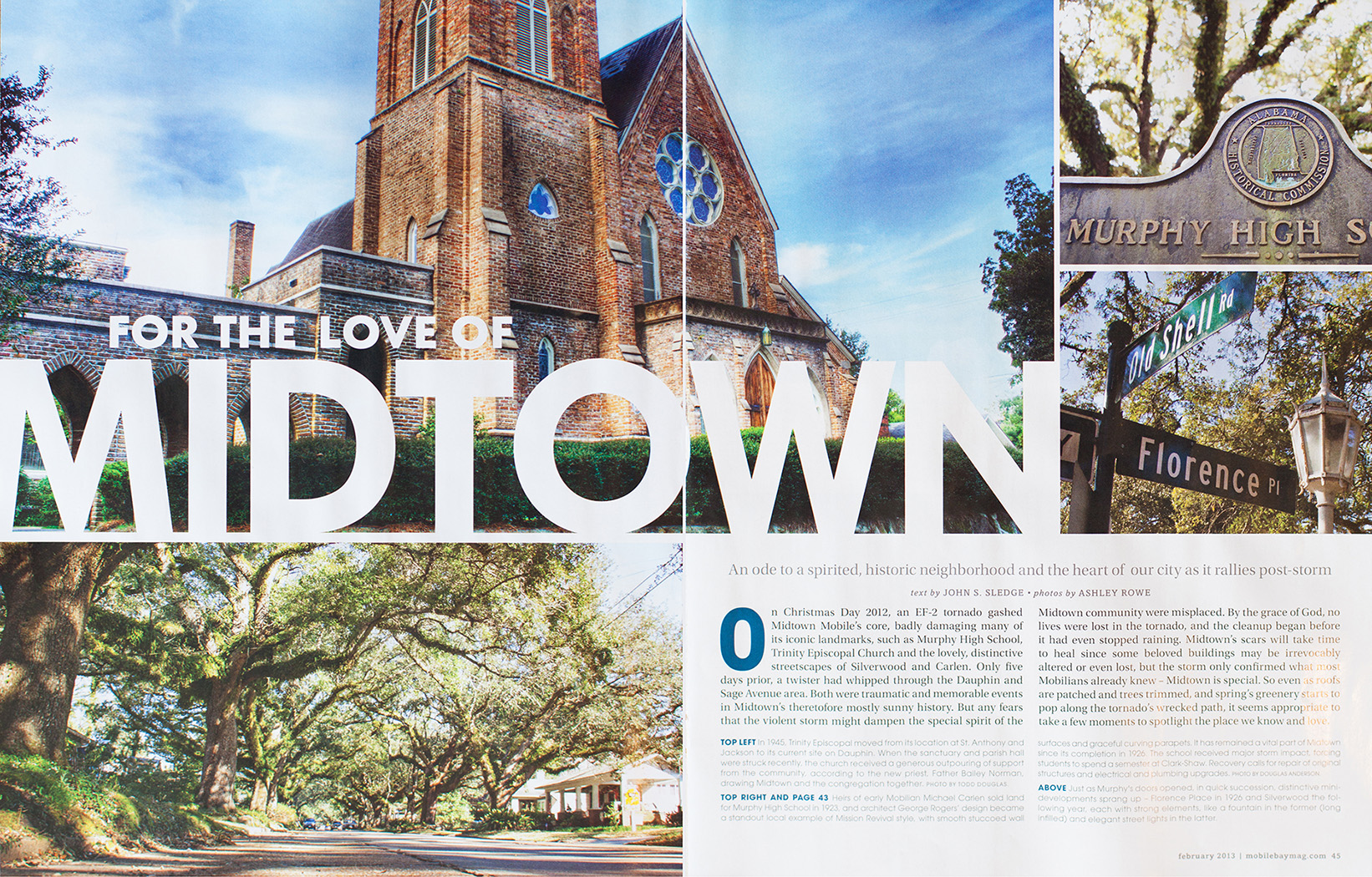 Mobile Bay February Inside Article | Dauphin Street Church