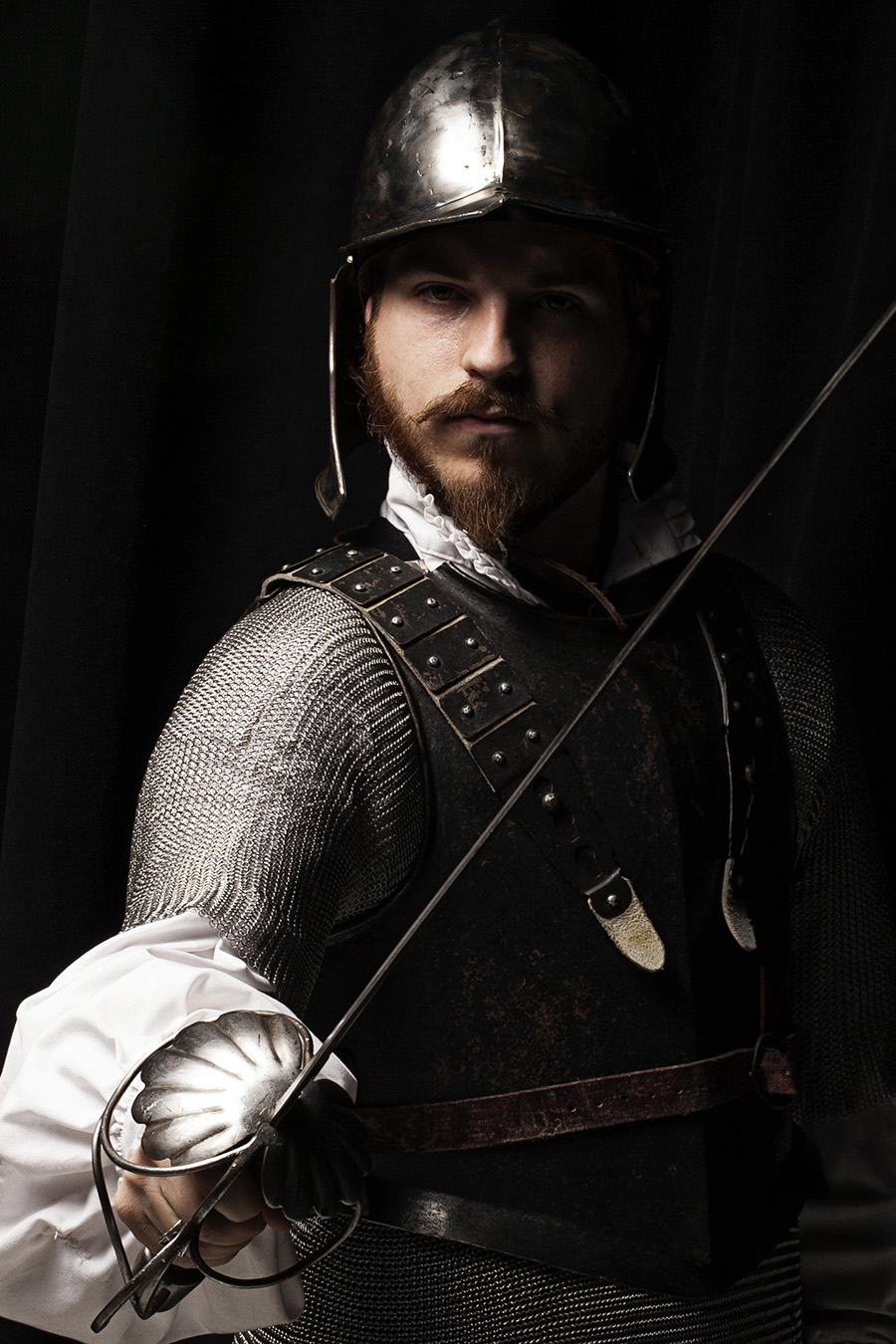Medieval Knight Portrait