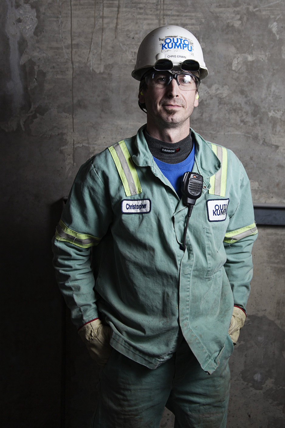 Industrial Worker Portrait | Mobile AL Environmental Portrait