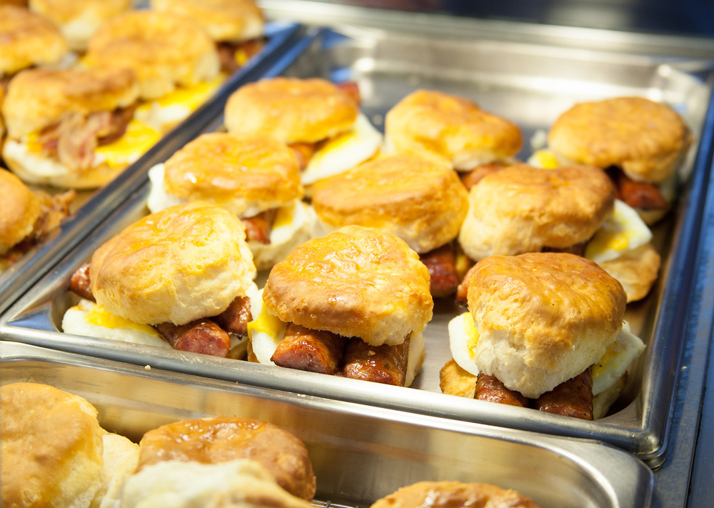 Satusuma, Alabama Chevron Station Breakfast Biscuits