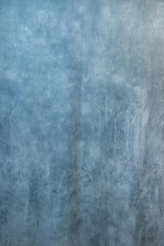 Blue Grunge Cloth - 5' x 6' size