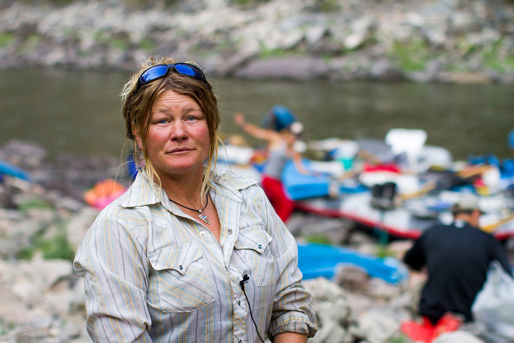 Jessica Cortright has been guiding trips on the Middle Fork of the Salmon River for twenty-four years. She lives in Boise, Idaho.
