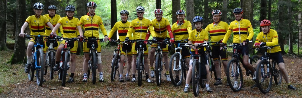 The yellow, red and black of banbridge cc. As worn with pride by our members.