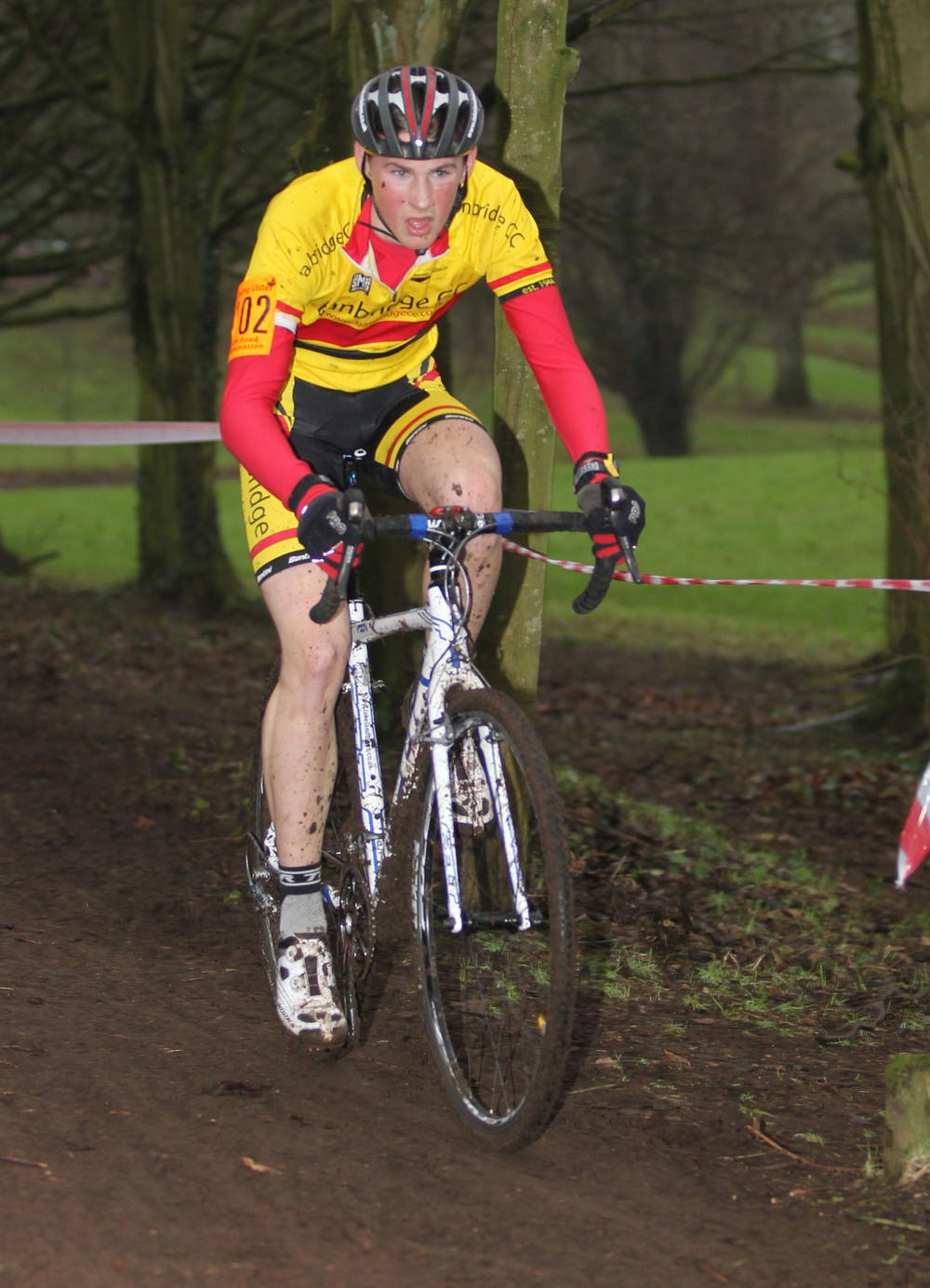 James Curry has taken his first win of the 2015-2016 CX season.JPG