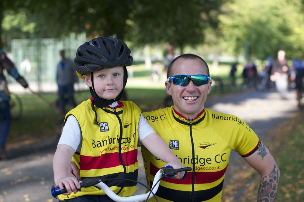 Ryan McBride has been showing his father Peter how it's done in the under 6 races..jpg