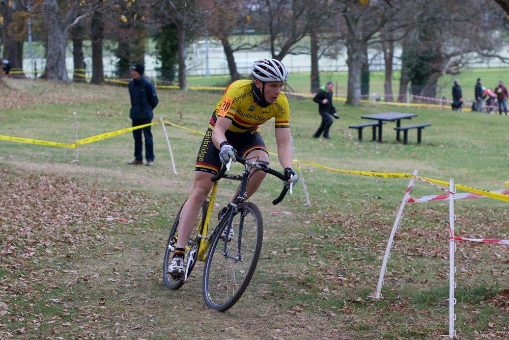 Gareth McKee had a fine ride