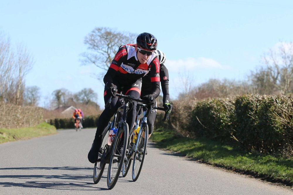 Shane Smith, above, is a previous winner of the A4 race at Annaclone and has gone on to represent Leinster at international level on numerous occasions. He can be seen above bridging to the break in the 'A' race in 2018.