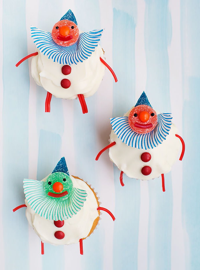 clown-cupcakes-candy-aisle-crafts