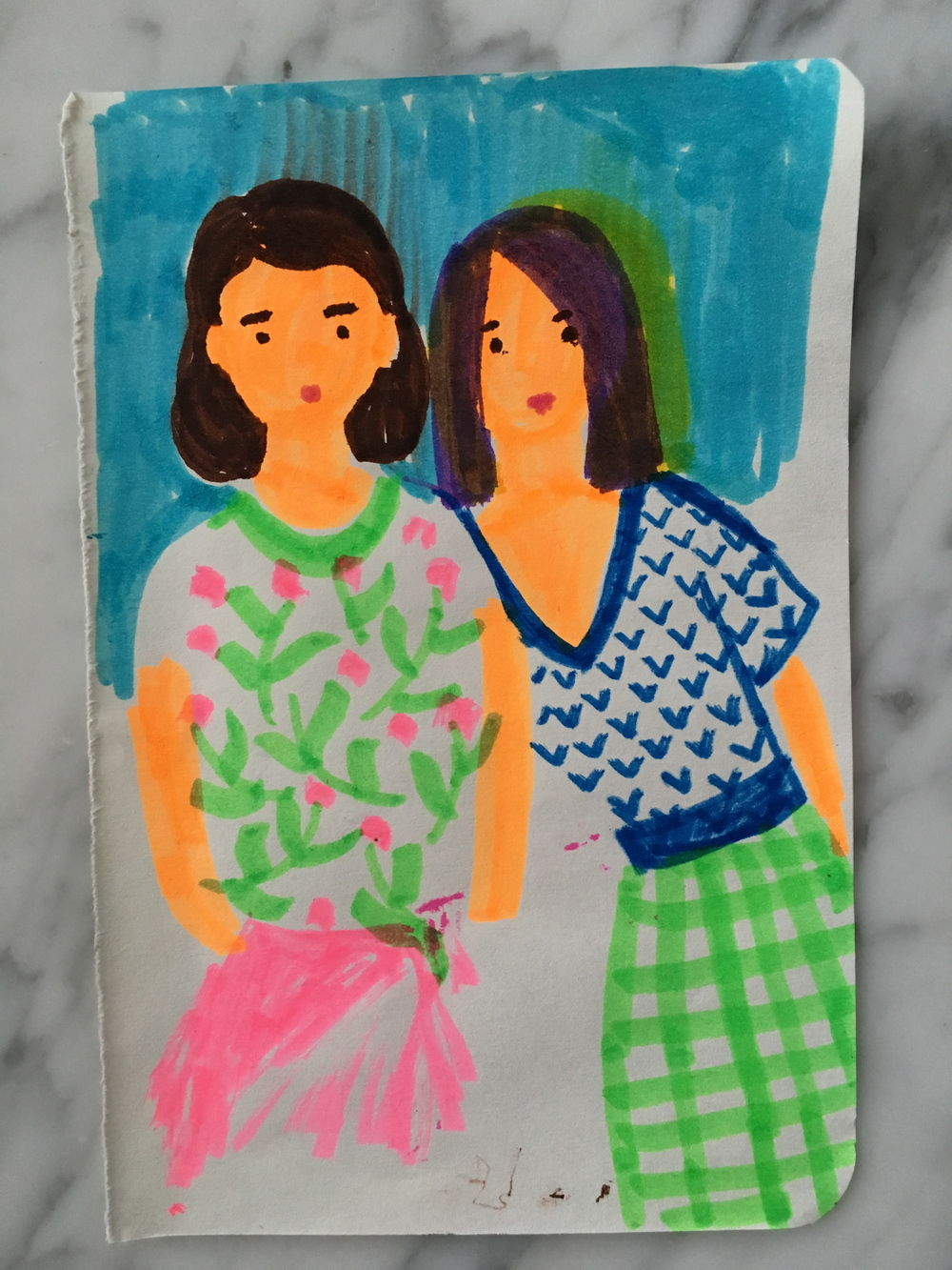 Margaret-McCartney-Girls-Sketch-2