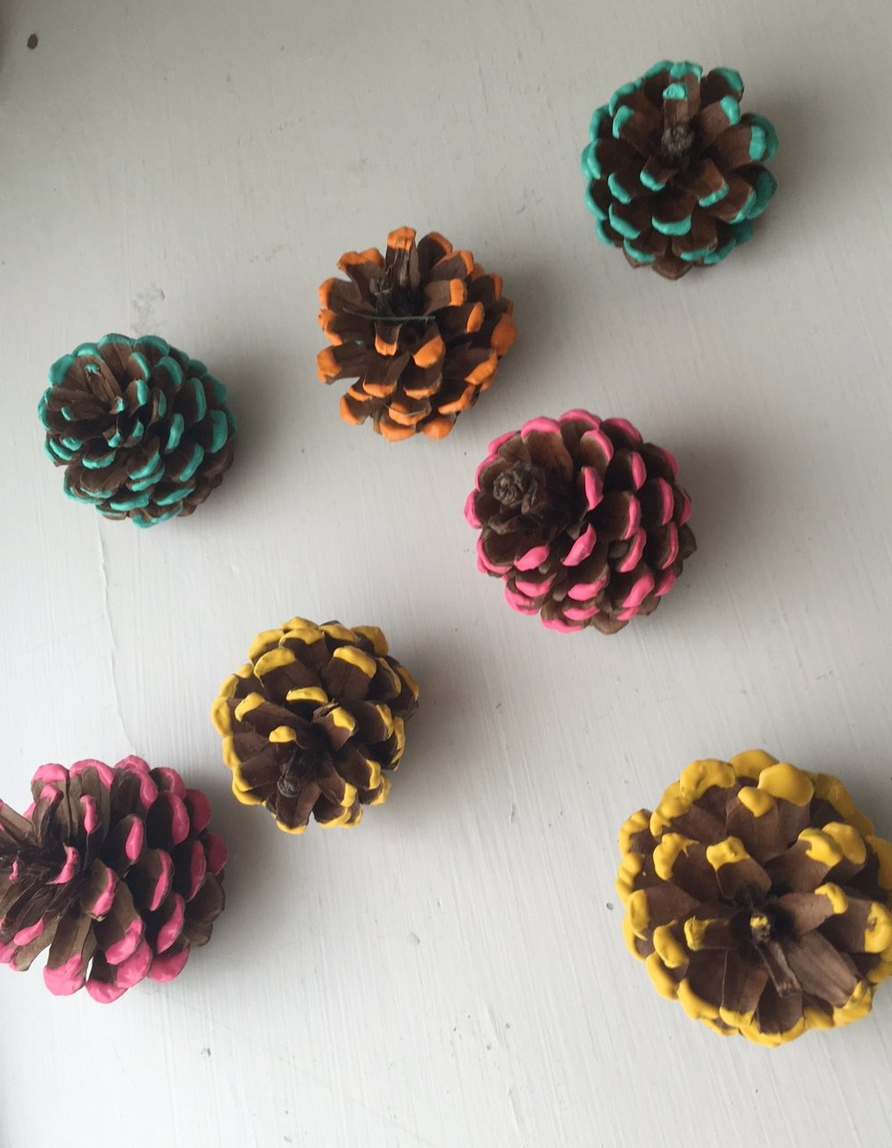 Painting-pinecones