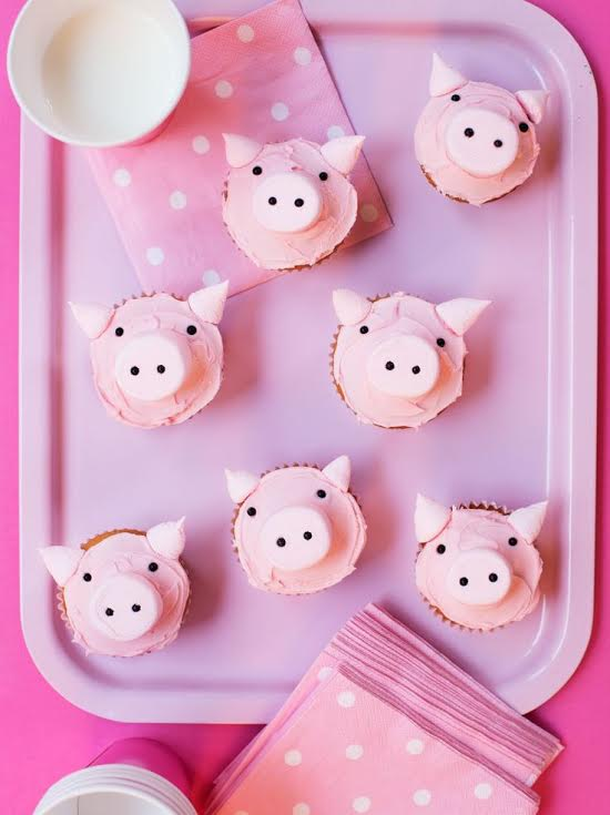 Super-Make-It-Piggy-Cupcakes
