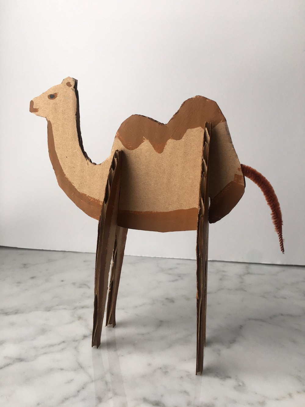 cardboard-camel