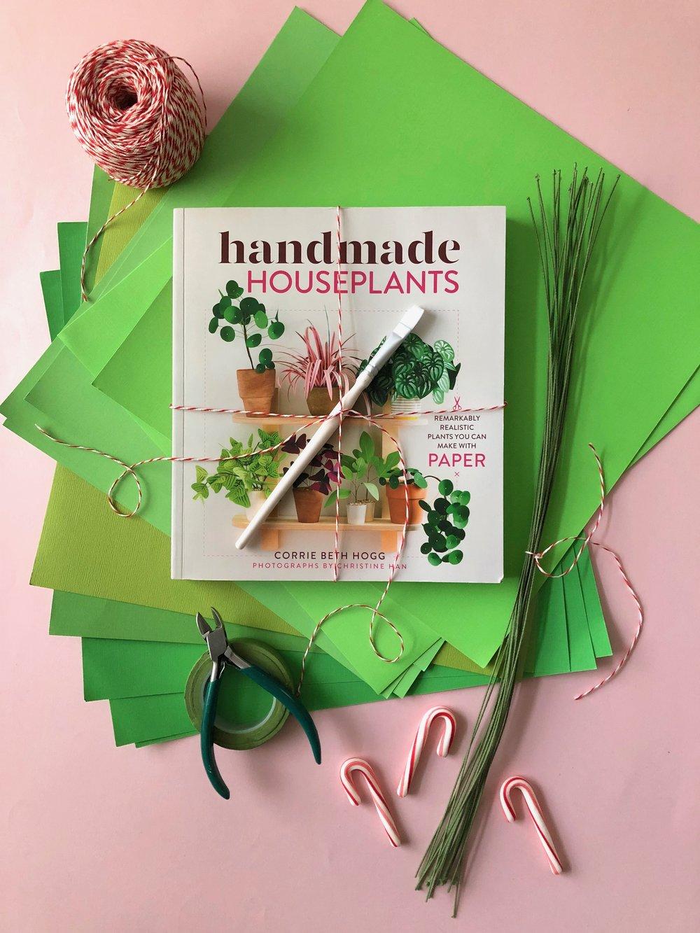 Homemade Houseplants Gift Kit