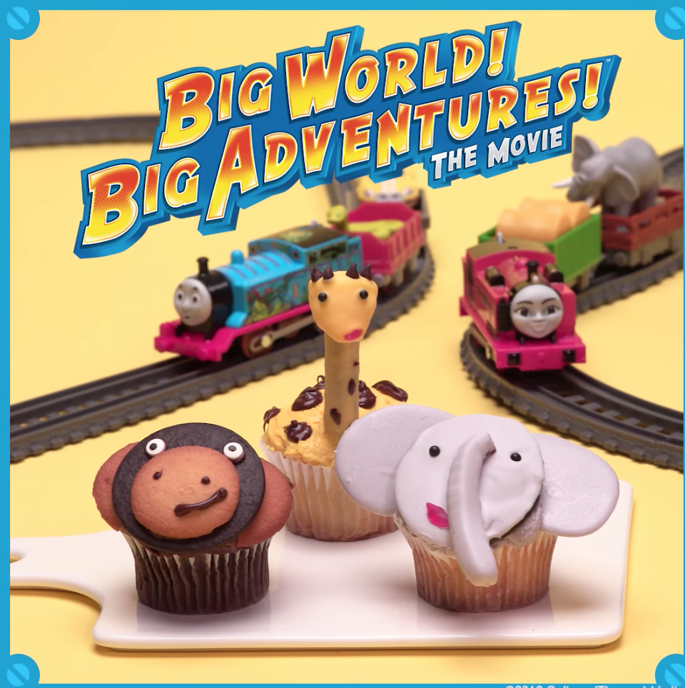 Thomas Big World Cupcake Video