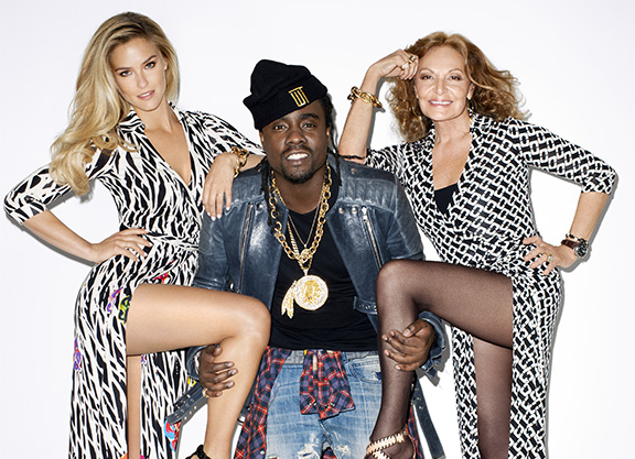 Wale + DVF + Bar Rafaeli for Harper's Bazaar