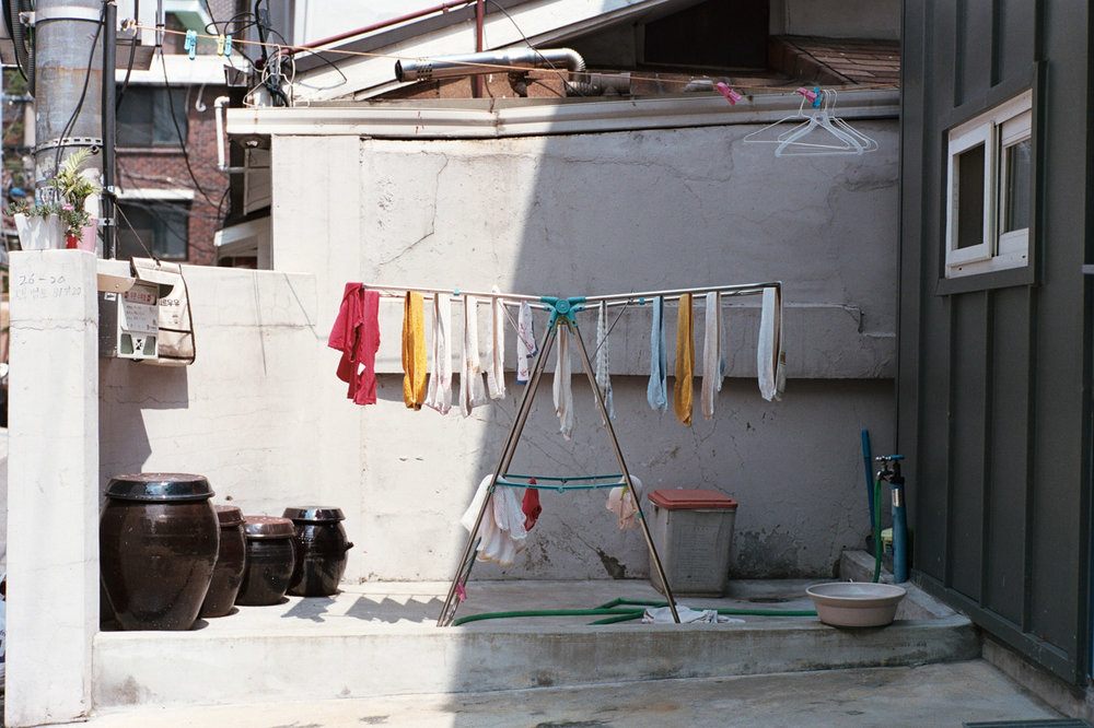 "DAVIS LAM ""I Was Lost But I've Been Found - Yongsan-gu (2016)"" Colourful dryrack - davislam.com"