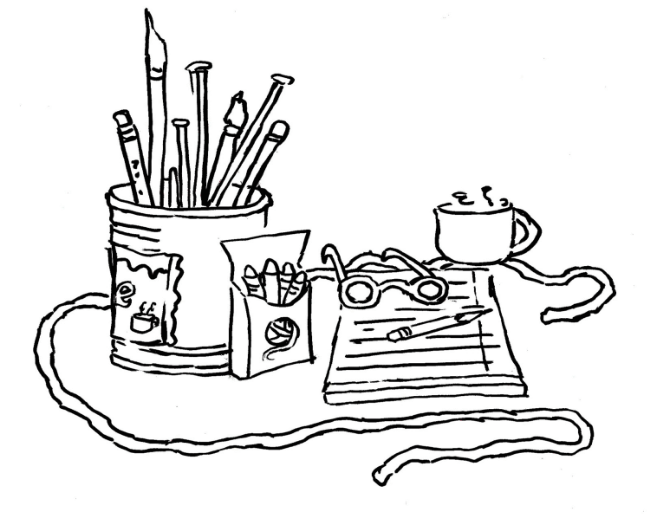 crafters coloring  page 1