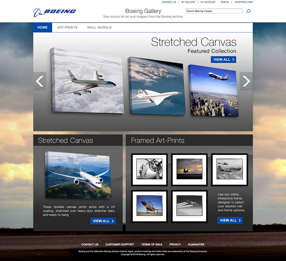 Visit Boeing Gallery