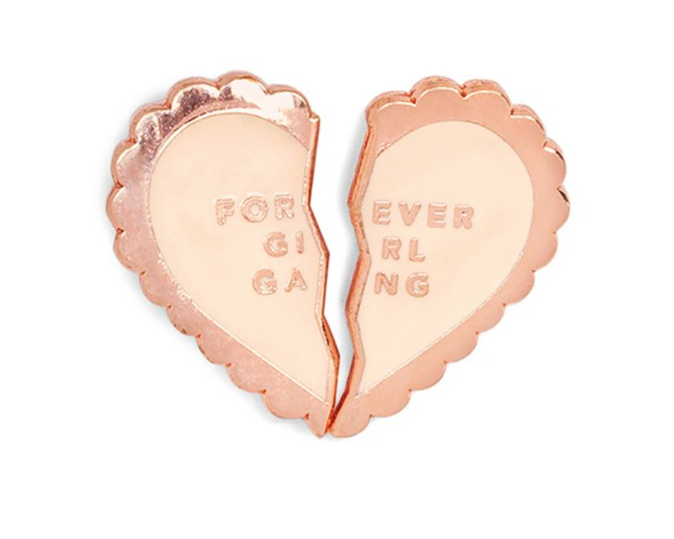Ban.do 75414 Enamel Pin Forever Girl Gang