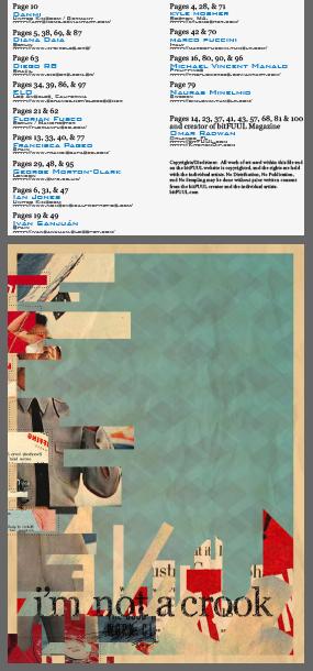 Featured in bit fuul Magazine