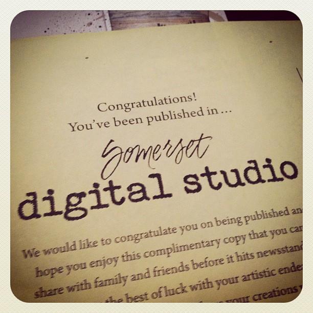 Featured in Somerset Digital Studio