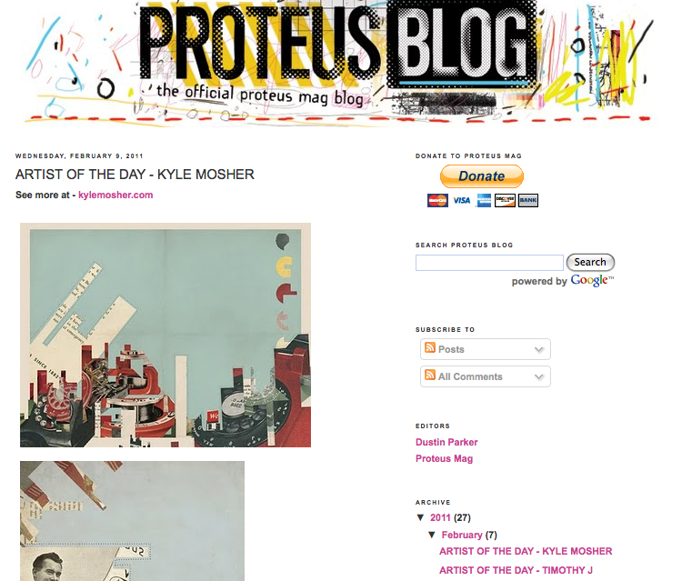 Featured in Proteus Mag
