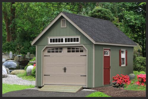 Elite Garden Single Car Garage Ags Structures