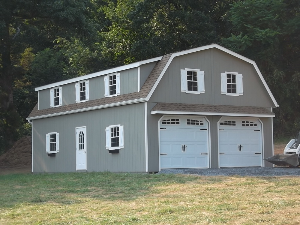 2 Story Double Wide Garages Ags Structures