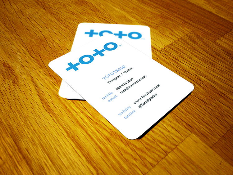 Business cards toto tasso design toto 2g reheart Images