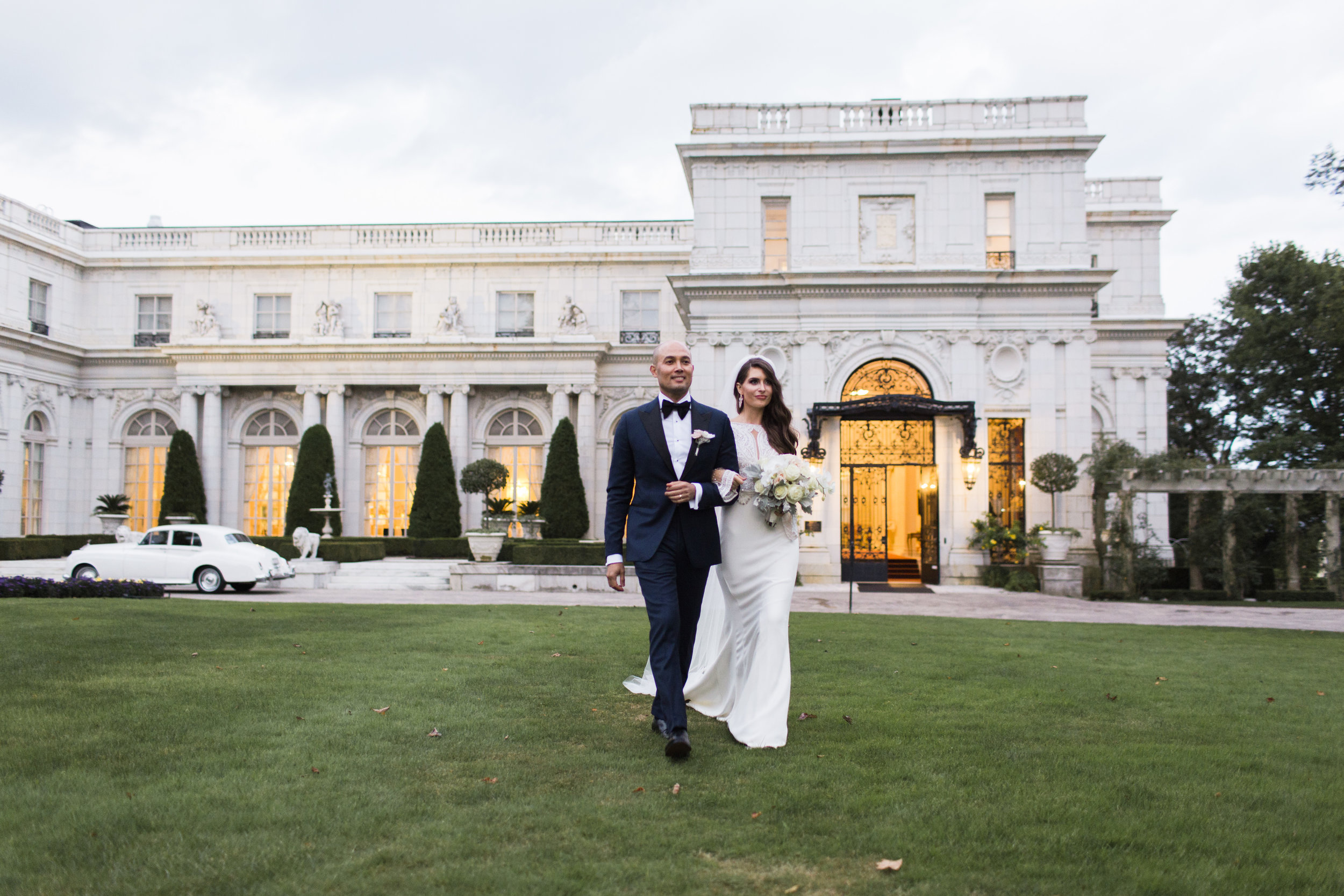 rosecliff mansion wedding newport, RI — Molly Lo.