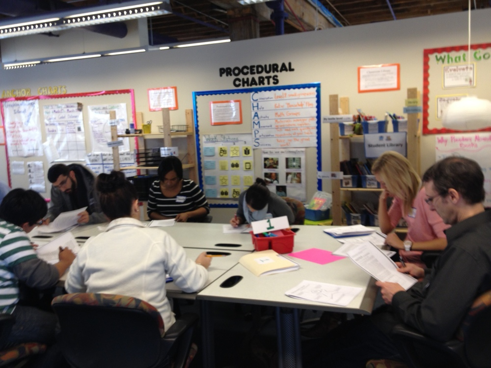 New Teachers Learning