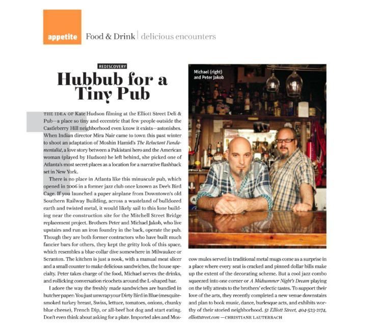 Atlanta Magazine, Christiane Lauterbach, 2013