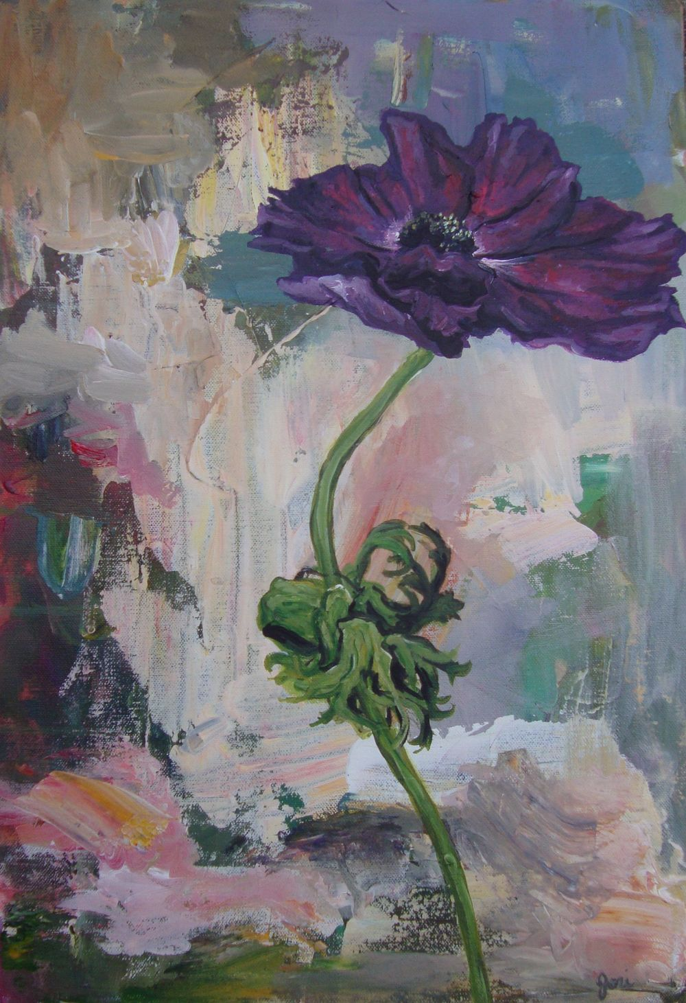 Purple Anenome painting.jpg