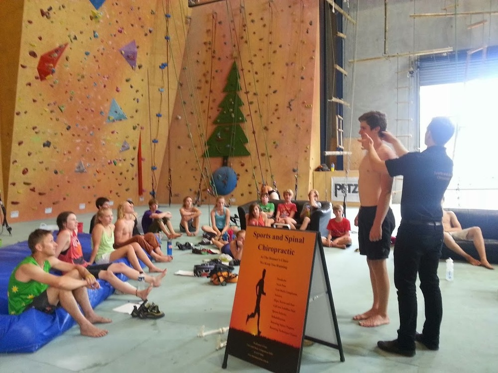 Sports Climbing Australia presentation of The Climber's Clinic