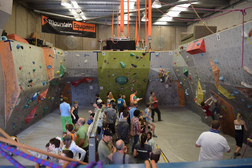 The Bloc Climbing Centre 2016 Bouldering State Championships