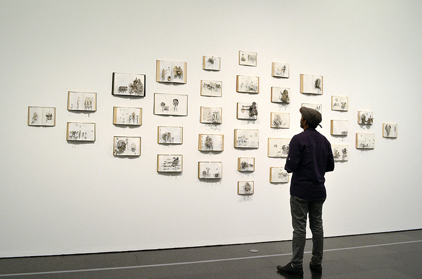 Installation in Museum of Contemporary Art (Macba) / Barcelona