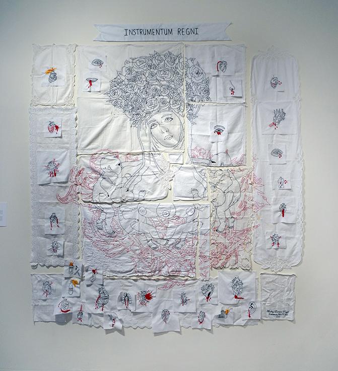 Virgen Parda de la Leche (embroidery)