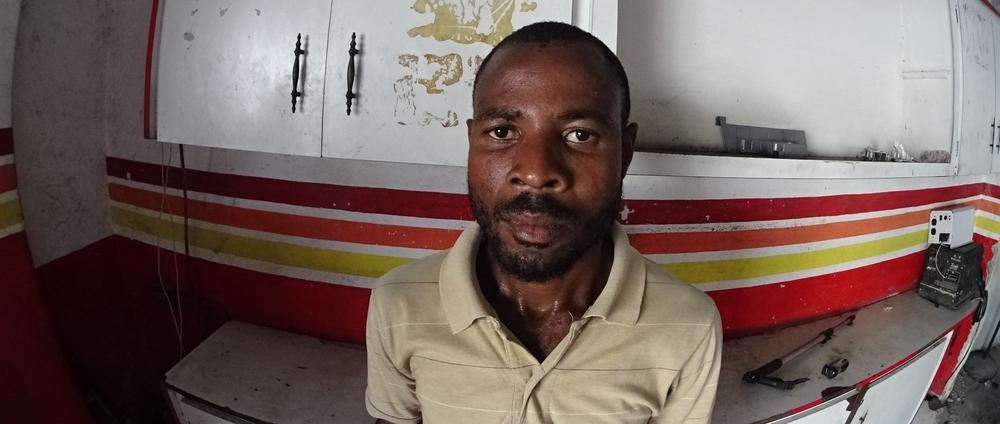 Stamp Artist (Haiti) /Reginald Calien