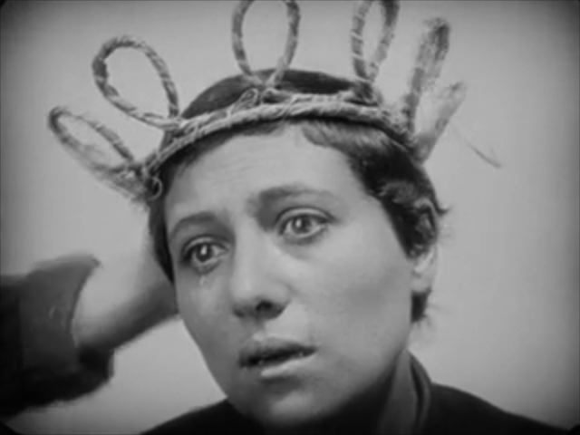 "Still of the Film ""The passion of Joan of Arc"" 1928"