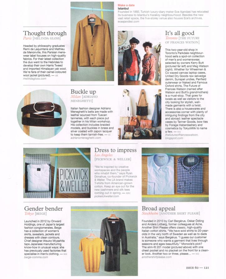 Monocle Magazine 2013