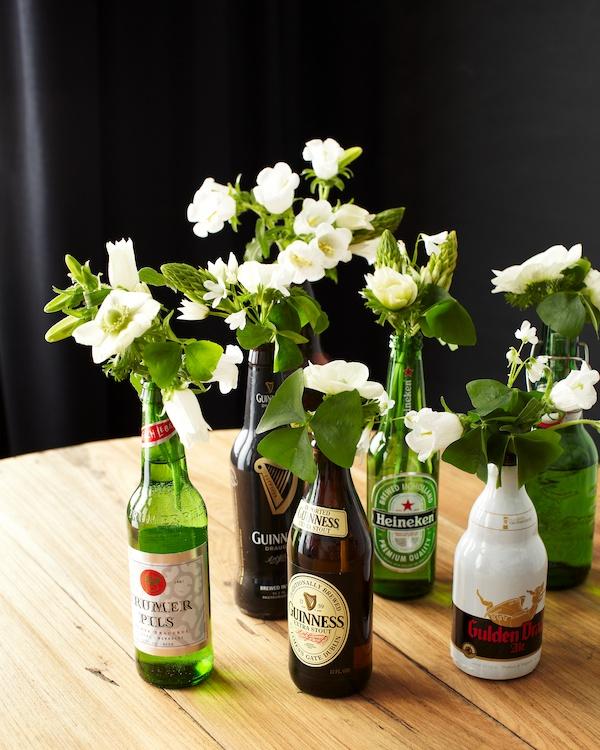 St Patrick S Day Beer Bottle Diy Tulipina
