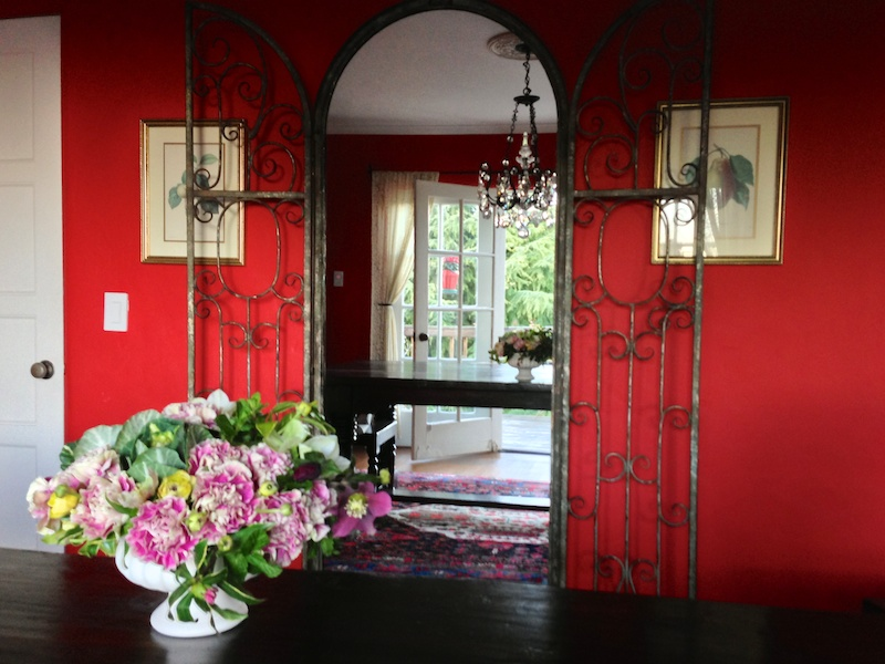 Dining Room Makeover - Kiana Underwood / tulipina.com