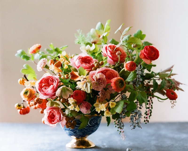 Early Autumn Arrangements / Kiana Underwood / tulipina.com | Photography: Nathan Underwood / nruphoto.com