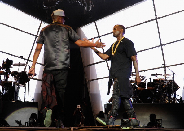 Strictly Business. Kanye West and Jay Z are back at it. But instead of watching the throne, Ye's DONDA has partnered with Hov's Roc Nation to manage his musical think tank. According to a press release, Roc Nation will oversee all of DONDA's recordings, branding, and touring initiatives.