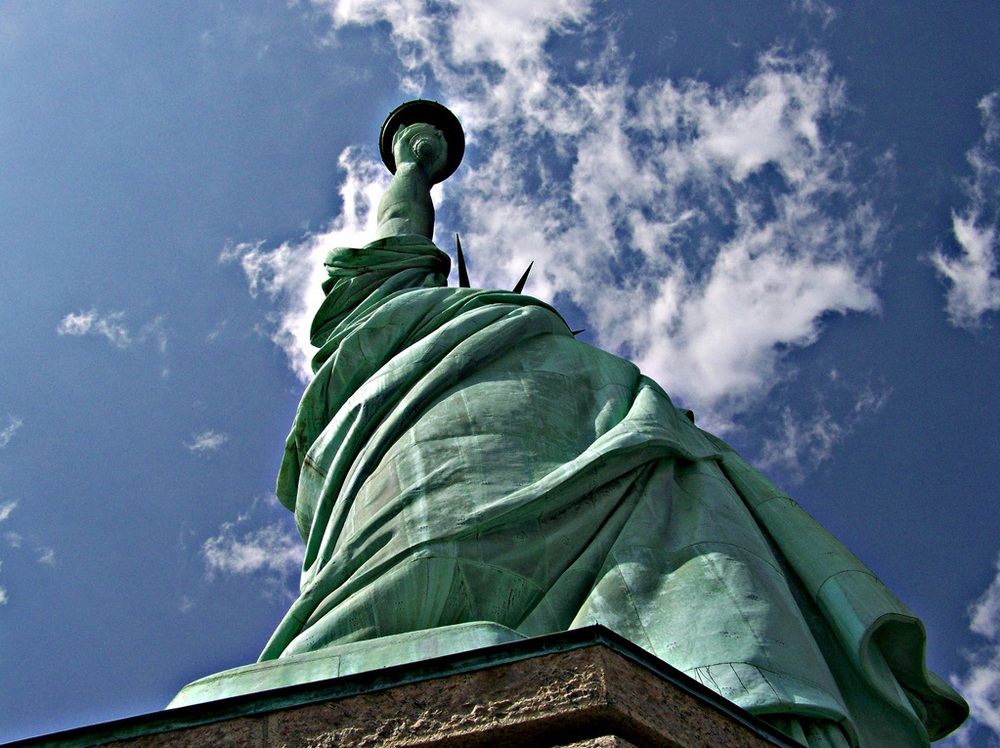 Statue of Liberty from my Kodak ZD710.