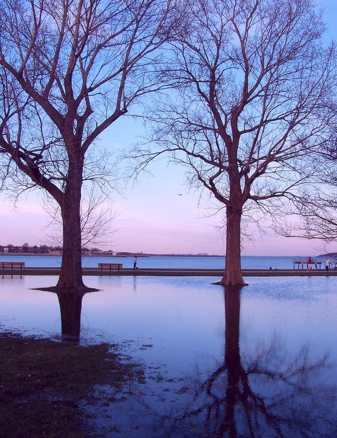 Boston South-end Sunset from my Kodak ZD710.
