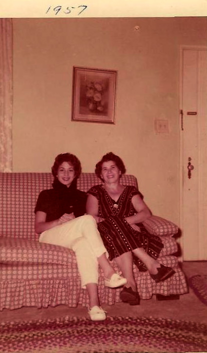 Lena and Frances-1957